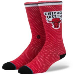 Men's Stance Chicago Bulls Jersey Crew Socks
