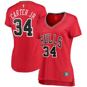 Wendell Carter Jr. Chicago Bulls Fanatics Branded Women's Fast Break Player Jersey - Icon Edition - Red